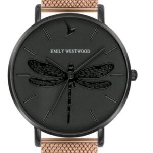 Női karóra Emily Westwood Dragonfly EBP-3218 - A számlap színe: fekete