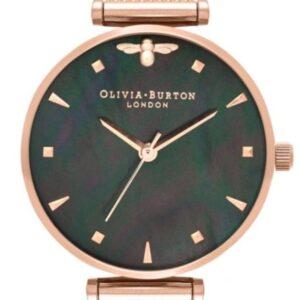 Női karóra Olivia Burton Queen Bee OB16AM145 - A számlap színe: fekete
