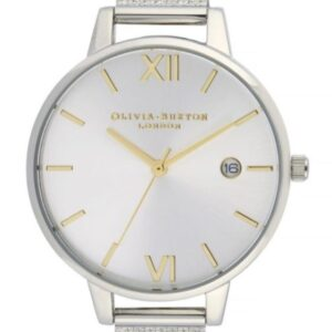 Női karóra Olivia Burton Sunray OB16DE02 - A számlap színe: ezüst