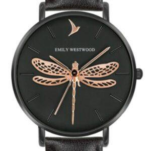 Női karóra Emily Westwood Dragonfly EBS-B021B - A számlap színe: fekete