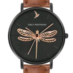 Női karóra Emily Westwood Dragonfly EBS-B044B - A számlap színe: fekete
