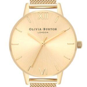 Női karóra Olivia Burton Sunray OB16MD85 - A számlap színe: arany