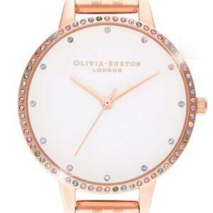 Női karóra Olivia Burton Rainbow OB16RB21 - A számlap színe: bézs