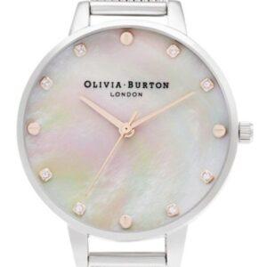 Női karóra Olivia Burton Bejewelled Florals OB16SE07 - A számlap színe: gyöngyház