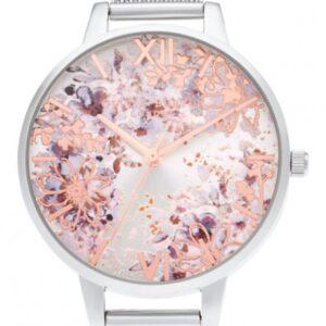 Női karóra Olivia Burton Abstract Florals OB16VM46 - A számlap színe: többszínű