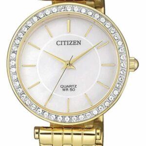 Női karóra Citizen Dress ER0212-50D - A számlap színe: krém