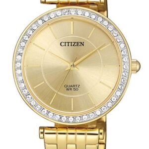 Női karóra Citizen Dress ER0212-50P - A számlap színe: arany
