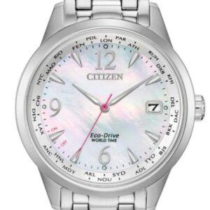 Női karóra Citizen World Time FC8000-55D - A számlap színe: gyöngyház