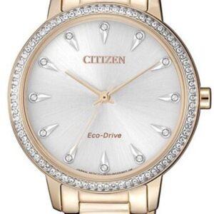 Női karóra Citizen Silhouette Crystal FE7043-55A - A számlap színe: ezüst