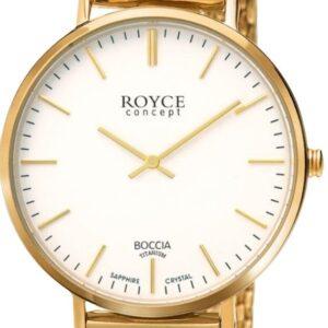 Női karóra Boccia Titanium Royce 3590-11 - A számlap színe: fehér