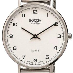 Női karóra Boccia Titanium Royce 3590-08 - A számlap színe: fehér
