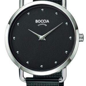 Női karóra Boccia Titanium Style 3314-03 - A számlap színe: fekete