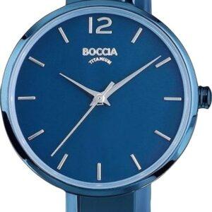 Női karóra Boccia Titanium Trend 3308-04 - A számlap színe: kék