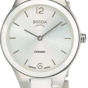 Női karóra Boccia Titanium Ceramic 3306-01 - A számlap színe: ezüst