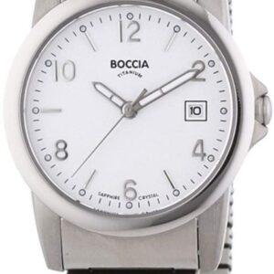 Női karóra Boccia Titanium Outside 3298-03 - A számlap színe: fehér