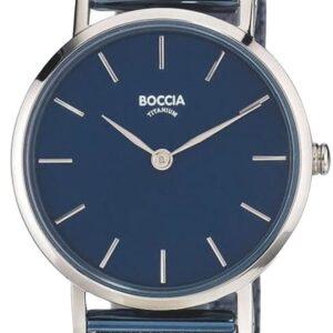 Női karóra Boccia Titanium Superslim 3281-07 - A számlap színe: kék