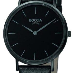 Női karóra Boccia Titanium Superslim 3273-07 - A számlap színe: fekete