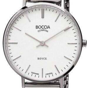Női karóra Boccia Titanium Royce 3246-06 - A számlap színe: fehér