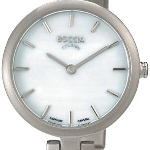 Női karóra Boccia Titanium Dress 3239-01 - A számlap színe: fehér