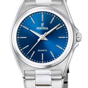 Női karóra Festina Classics 20553/3 - A számlap színe: kék