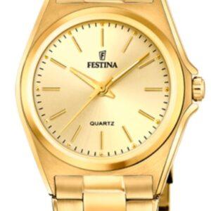 Női karóra Festina Classics 20557/3 - A számlap színe: arany