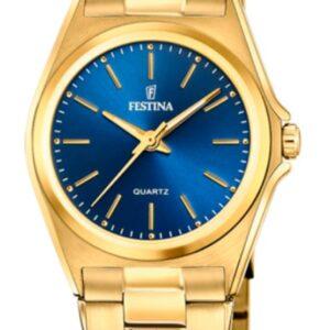 Női karóra Festina Classics 20557/4 - A számlap színe: kék