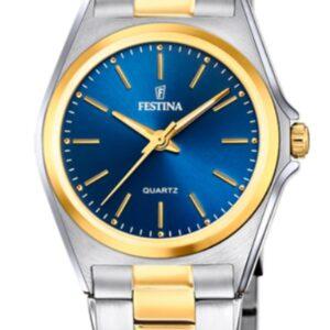 Női karóra Festina Classics 20556/4 - A számlap színe: kék