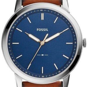 Női karóra Fossil Minimalist FS5304 - A számlap színe: kék
