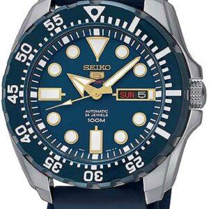 Női karóra Seiko 5 SRP605K2 - A számlap színe: kék