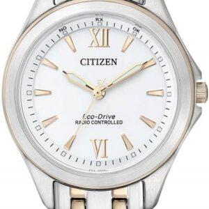 Női karóra Citizen Elegant ES4024-52A - A számlap színe: fehér
