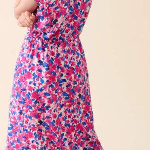 Virágmintás viszkóz midi ruha ORSAY
