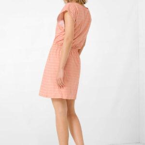 Csíkos dzsörzé ruha ORSAY