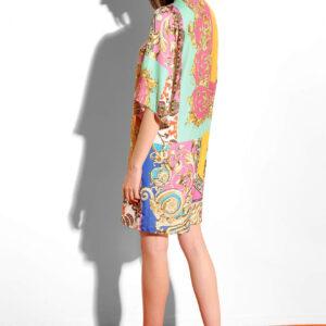 Lezser ruha patchwork mintával ORSAY