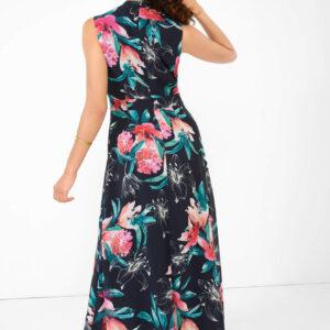 Virágmintás maxi ruha ORSAY