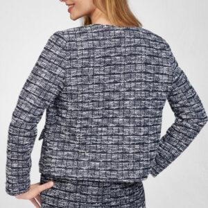 Dobozszerű tweed blézer ORSAY