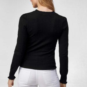 3D pöttyös testhezálló pulóver ORSAY