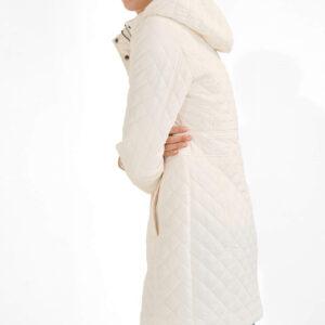 Steppelt kapucnis kabát ORSAY