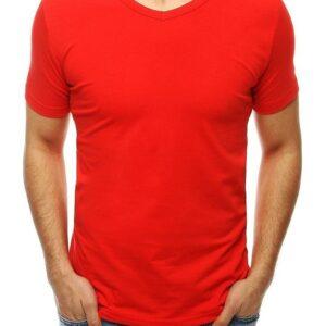 Férfi piros póló✅ - Basic