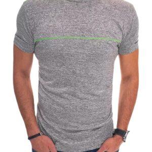 Világosszürke férfi póló