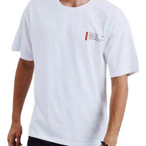 Fehér férfi póló