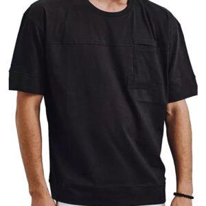 fekete póló zsebbel✅ - Basic