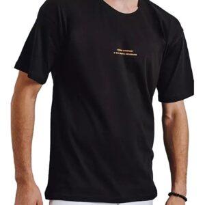 fekete férfi póló