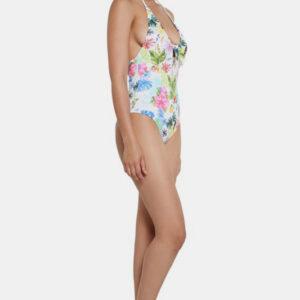 Desigual fehér darab fürdőruha Honolulu - XL - Desigual✅