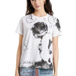 Desigual fehér póló Mickey - XXL - Desigual✅