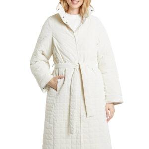 Desigual fehér téli steppelt kabát Granollers - XL - Desigual✅