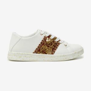 Desigual fehér tornacipő Cosmic Gold - 41 - Desigual✅