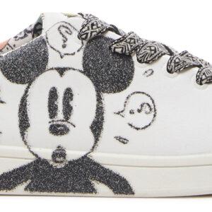 Desigual fehér tornacipő Cosmic Mickey Glitter - 41 - Desigual✅