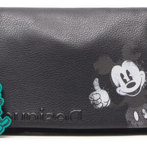 Desigual fekete crossbody kézitáska Mickey Dortmund Flap - Desigual✅