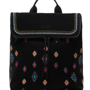 Desigual fekete hátizsák July Tribu Nerano - Desigual✅