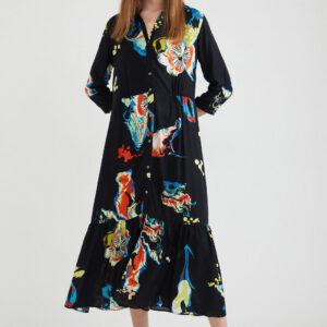 Desigual fekete ing ruha Bruselas - XL - Desigual✅